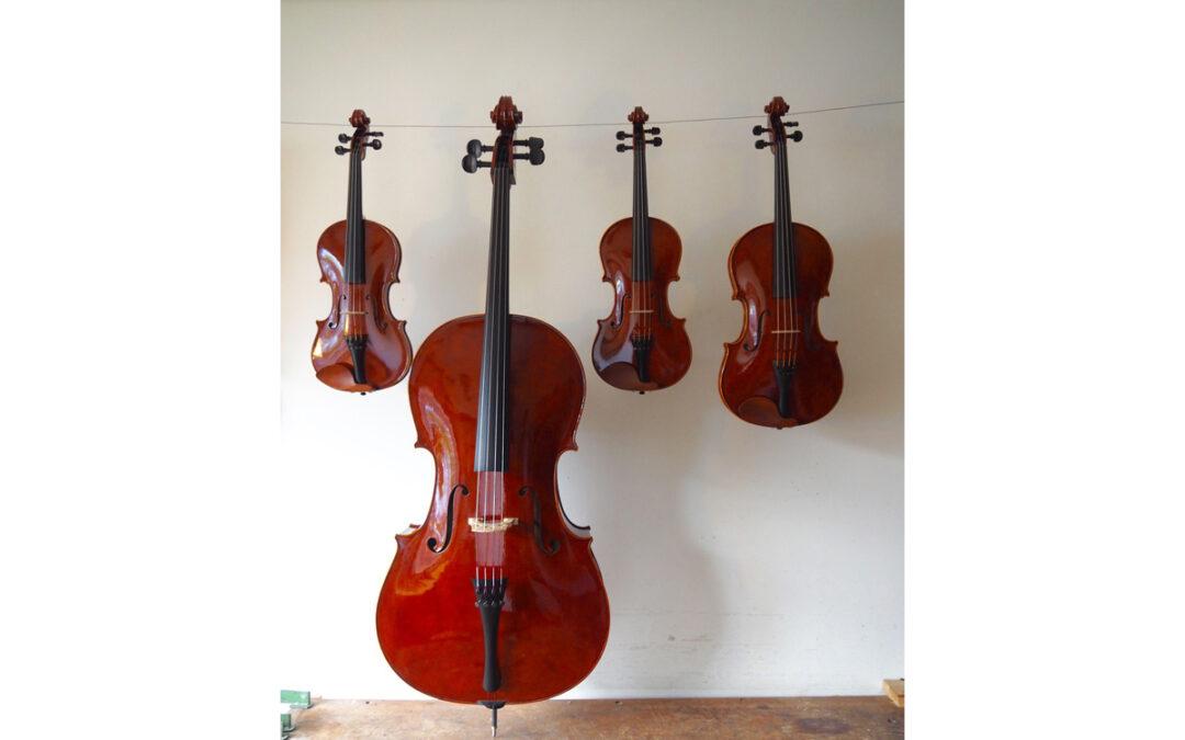 Schouten-kwartet gespeeld op de Strijkkwartettenbiennale 2018