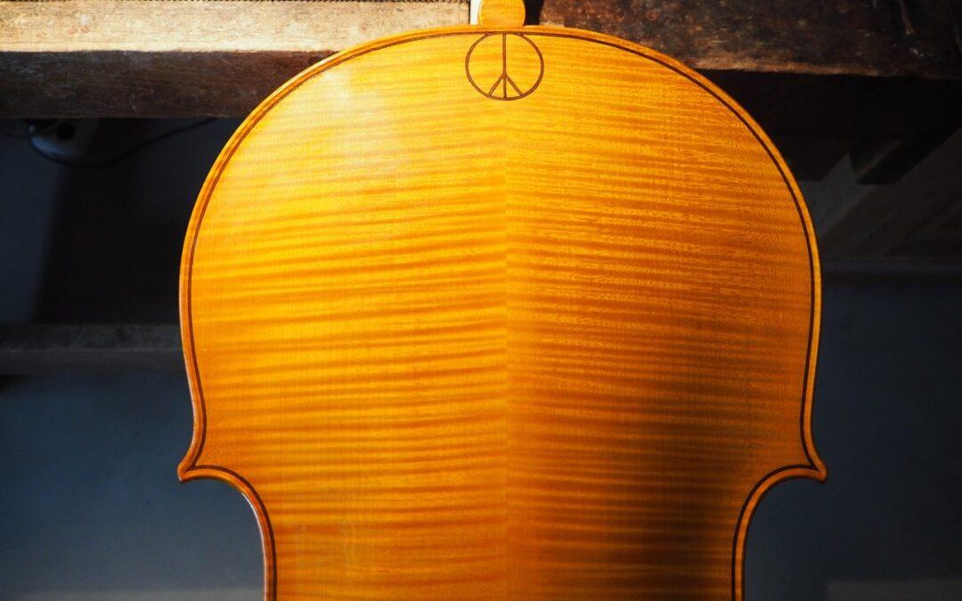 Cello van Kate Moore